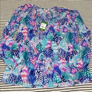 NWT Size Medium Lilly Pulitzer Willa Top